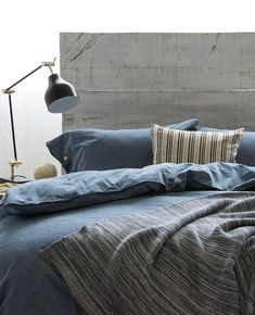 Chambray Denim Navy Bedding, Coverlet Bedding, Blue Bed Sheets, Gold Coast, Chambray, Beds, Duvet Covers, Pillow Cases, Denim