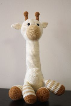 Handmade Amigurumi Crochet Huggable Stuffed Cream by InayasToybox