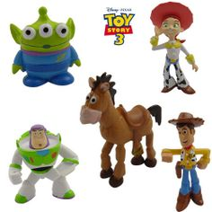 5X Disney Toy Story Woody Buzz Green Man Mini Figure Set | eBay Toy Story Figures, Toy Story Buzz, Action Figures, Jessie And Buzz, Woody And Buzz, Toy Story Invitations, Hobby Toys, Disney Toys, Green Man