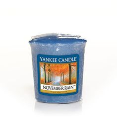 Rainy weather doesn't have to be a bad thing.  Yankee Candle  November Rain - Votive Sample £1.80 (each)
