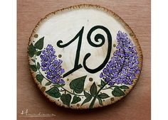 numar_masa_19 Wedding Table Numbers, Coasters, Decorative Plates, Painting, Home Decor, Table Numbers, Decoration Home, Room Decor, Coaster