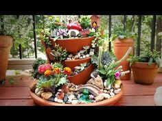 How To Make A Fairy Garden - YouTube