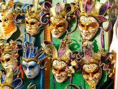 Carnival masks - Venice