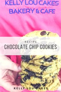 Chocolate Chip Cookies – Kelly Lou Cakes Bakery Cafe, Chocolate Chip Cookies, Oatmeal, Oven, Cakes, Breakfast, Blog, Recipes, Chocolate Pudding Cookies
