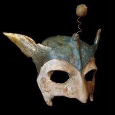 Paper Mache Masks by Marion Westerman, via Behance