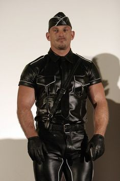 Samuel Colt in Leather