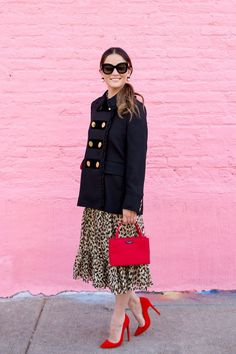 How to Wear Leopard Print Three Ways with kate spade new york
