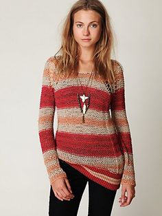 I'd rock this all fall. Looks SO cozy.