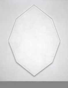 Mary Corse . untitled (white octagon), 1964