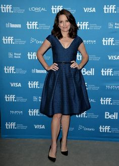 Tina Fey in Temperley London for the 2014 Toronto International Film Festival. Love this look from head to toe!