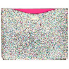 Make all her luddite friends jealous with this Kate Spade Glitterball iPad Sleeve- NEES Up Girl, The Girl Who, Kate Spade Ipad Case, Cool Gifts For Women, Things To Buy, Stuff To Buy, Ipad Sleeve, My Bags, Tech Accessories
