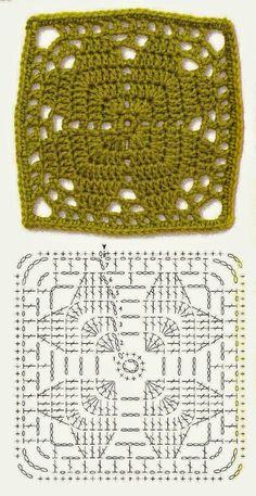 World crochet: Motive 13
