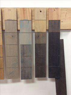 different grey finishes at ECustomFinishes' studio