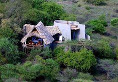 Aerial View of ol Donyo Lodge - Ol Donyo Lodge.  Photo copyright Great Plains-Ol Donyo Lodge.