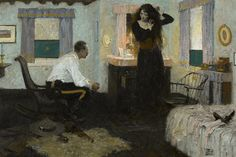 DEAN CORNWELL Unknown Oil on Canvas 24″ x 36″