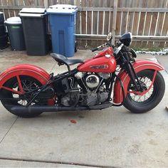 1947 EL Harley Davidson Knucklehead
