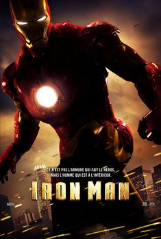 Iron Man #movies 1, 2, and soon to be 3.  My fav Robert Downy Jr. Character, with Sherlock Holmes as close second.
