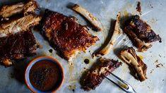 Pečená žebra: recept včetně naší domácí barbeque omáčky Steak, Bbq, Food, Barbecue, Barbacoa, Meal, Barrel Smoker, Essen, Steaks