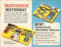 Matchbox Lesney 1969 catalog Page 5, Matchbox motorway