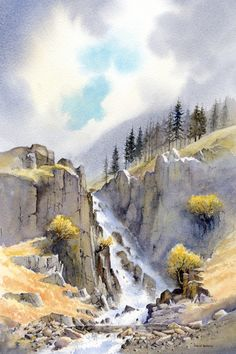 "CHECK MY BOARD ""Artist:  David Bellamy"" for more of his work and tutorials."