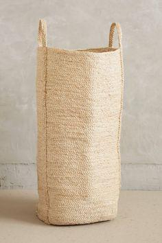 Lost & Found Anthropologie woven basket