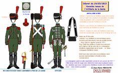 Guardia Reale artiglieria a piedi 1813