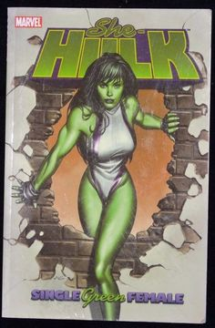 She Hulk Single Green Female Volume 1 Marvel Comics Dan Slott Paperback Book New