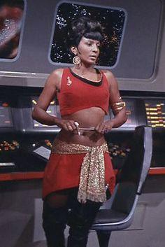 Lt. Uhura, Mirror Mirror.