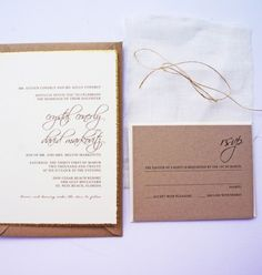 Rustic beach wedding invitation by dodeline design Charleston, SC