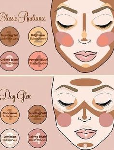 Explore the hottest trends with our latest makeup collection. Discover the new makeup products & colors of the season that are hitting the beauty scene. Too Faced How To Contour Your Face, How To Apply Makeup, Too Faced, Diy Beauty, Beauty Makeup, Beauty Hacks, Face Contouring, Contouring And Highlighting, Luminizer