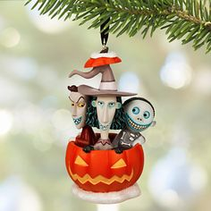 The Nightmare Before Christmas Pumpkin Decoration