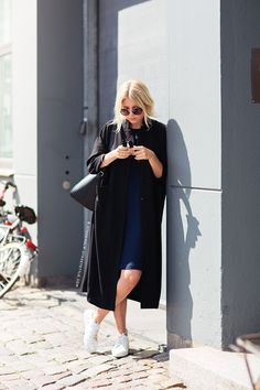 When in doubt, opt for an oversize silhouette.