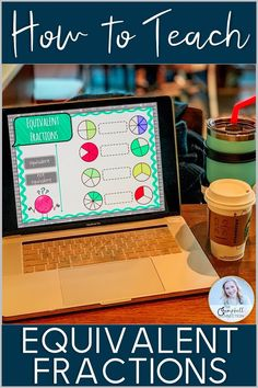 How to teach equivalent fractions to graders is the question on every teachers mind! It is not a topic for the faint of heart. Google Docs, Google Classroom Tutorial, Fraction Activities, Math Games, Math Resources, Math Activities, Teaching Technology, Apps, Teaching