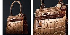 Hermès cria minibolsa de ouro e diamantes que custa R$ 3,3 milhões
