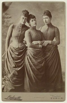 he daughters of King Edward VII (1887)