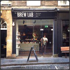 Brew Lab ~ Artisan coffee bar in Edinburgh, Scotland
