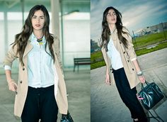 Versatile trench (by Montse O) http://lookbook.nu/look/3312319-versatile-trench