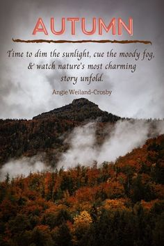 """An imaginative array of autumn and fall quotes, happy autumn quotes, and enchanted autumn quotes! 