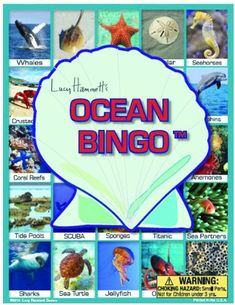 Ocean Bingo Board Game *** For more information, visit image link.Note:It is affiliate link to Amazon.