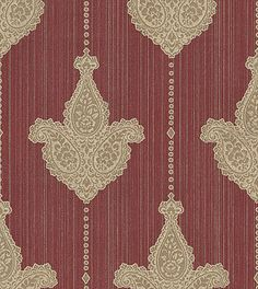 2nd, dining (red, but just in case) (Sabrina wallpaper by Albany)