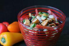 Salade d'amandes trempées