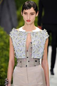 Christian Dior, by Raf Simons, summer 2013 couture, in Paris