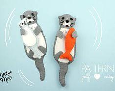 Image result for felt sea otter pattern