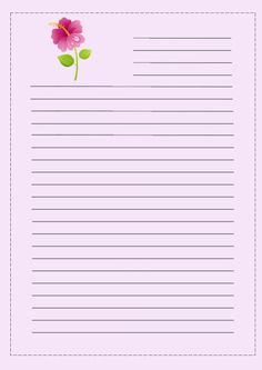 Notebook Paper Printable, Printable Lined Paper, Free Printable Stationery, Bullet Journal Printables, Printable Planner Stickers, Lined Writing Paper, Stationery Paper, Note Paper, Paper Decorations