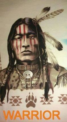 A gorgeous Native American Warrior Native American Face Paint, Native American Tattoos, Native American Warrior, Native American Paintings, Native American Pictures, Native American Wisdom, Native American Beauty, Native American Tribes, American Indian Art