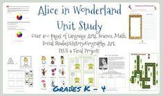 Alice in Wonderland Unit Study