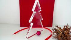 *Weihnachtsbaum* Hochglanz  von PAULSBECK Buchstaben, Dekoration & Geschenke auf DaWanda.com