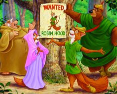 Robin Hood - One of my all-time favorite Disney Movies. :)