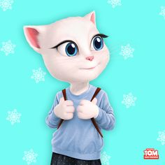 Hello, #winter! I have big plans for you! xo, Talking Angela #TalkingAngela #MyTalkingAngela #LittleKitties #festive #sweet #sweettooth #love #cute #happy