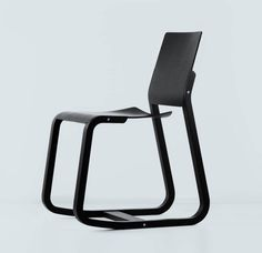 LOID CHAIR by GECKELER MICHELS. Loid is a concept of a wooden dining and task chair, embracing advanced ergonomic requirements. It offers an active sitting experience through a frontal tilt movement and a gentle flexibility in the seat and back areas. Wing-like shaped plywood shells are being held by flexible plywood runners, which are elemental for the eye-catching cantilever momentum.(06012017 )